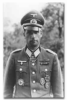 """Half-Jew"" Colonel Walter H. Hollaender, decorated with the Ritterkreuz and German-Cross in Gold; he received Hitler's Deutschblütigkeitserklärung. (Military awards: Ritterkreuz, German-Cross in Gold, EKI, EKII, and Close Combat Badge.)"